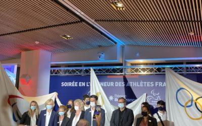 Retour sur la Soirée en l'honneur des athlètes franciliens